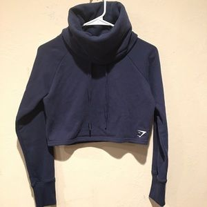 Gymshark Cropped Mockneck Sweater sz XS